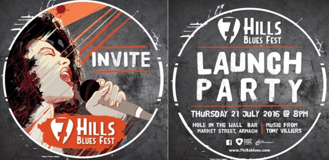 Your invitation to the launch of the 7 Hills Blues Festival 2016